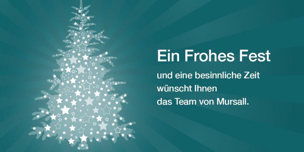 mursall wünscht frohe Weihnachten und ein gutes Neues Jahr 2015