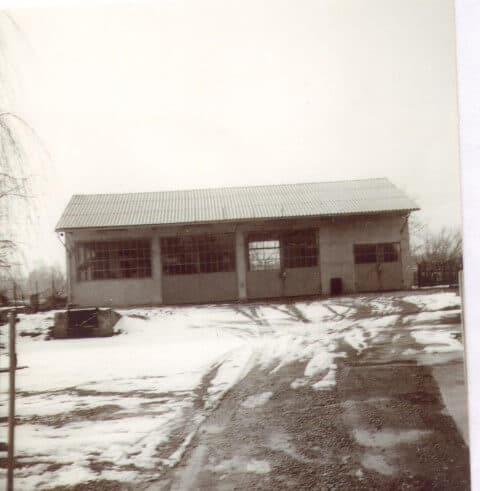 1968 Erweiterung Halle Lechstraße 30